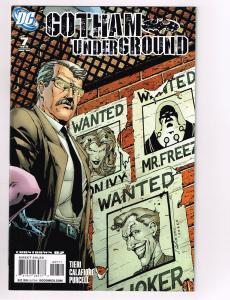 Batman: Gotham Underground # 7 DC Comic Book Limited Series Catwoman Joker S11