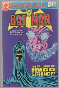 BATMAN ANN 10 VF Triumph of Hugo Strange 1986