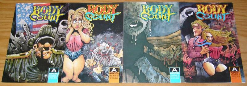 Body Count #1-4 FN/VF complete series - barry blair/dave cooper - co-ed killers