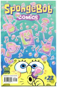 SPONGEBOB #22, VF, Square pants, Bongo, Cartoon comic, 2011, more in store