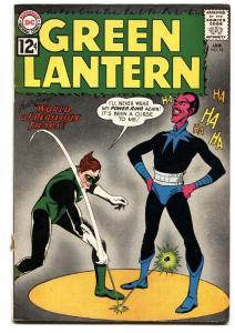 GREEN LANTERN  #18 1963-DC-POWER RING-SINESTRO-vg+