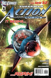 Action Comics (2nd Series) #5 VF/NM; DC | save on shipping - details inside