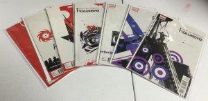Hawkeye 1 3-8 Vf-Nm Very Fine-Near Mint Marvel Comics