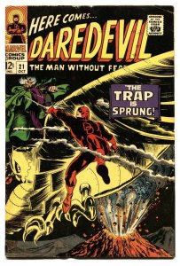 DAREDEVIL #21 1966-MARVEL COMICS- silver-age fn