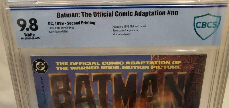 Batman: Official Movie Adaptaion -CBCS 9.8- Second Printing! ULTRA RARE! HOT!