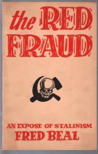 Red Fraud 1949-Tempo-expose of Stalinism-Fred Beal-commie exploitation-FN