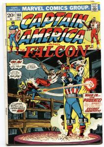 CAPTAIN AMERICA #168 First Baron Zemo-1973-MCU Movie.