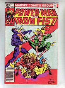Power Man and Iron Fist #84 (Aug-82) FN/VF Mid-High-Grade Luke Cage, Iron Fist