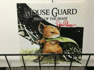 MOUSE GUARD 1-6 - #1 Signed by David Petersen - ALL 1st Printings VF or better.