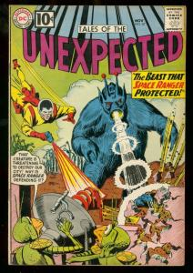 TALES OF THE UNEXPECTED #67 1961  SPACE RANGER  10 CENT FN/VF