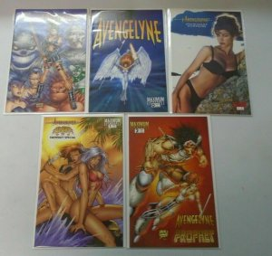 Avengelyne comic lot 10 different issues 8.0 VF