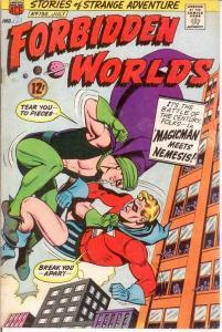 FORBIDDEN WORLDS 136 VG-F  July 1966 COMICS BOOK
