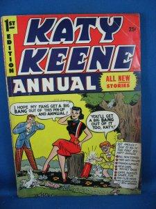 Archie KATY KEENE ANNUAL 1 VG 1954