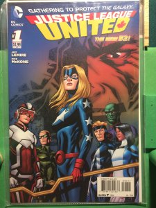 Justice League United #1 The New 52
