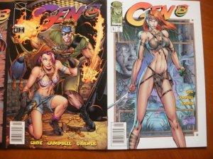 3 Near-Mint Image GEN 13 #3 #4 #5 Comic (1995) Choi Campbell Garner