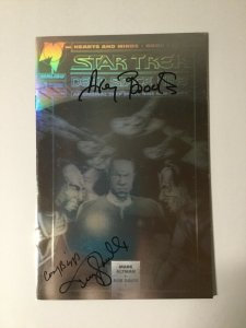 Star Trek Deep Space Nine 1 Near Mint Nm Signed Malibu