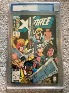 X-Force 22 CGC 9.6 Greg Capullo Cover and Art 1993