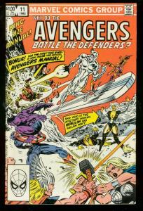 AVENGERS ANNUAL #11 1982-MARVEL COMICS-SILVER SURFER VF
