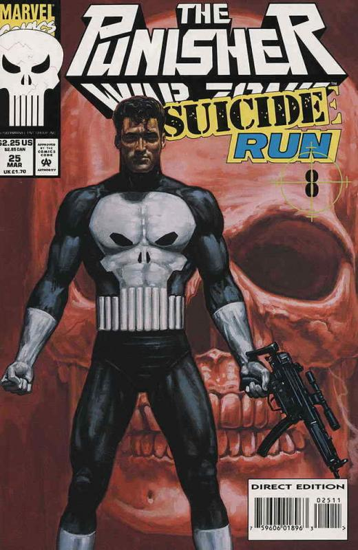 Punisher, The: War Zone #25 VF/NM; Marvel | save on shipping - details inside