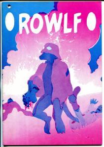 Rowlf #1 1974-Richard Corben-printers error copy-very rare-FN/VF