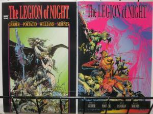 LEGION OF NIGHT (1991) 1-2 GERBER;PORTACIO,FINFANGFOOM!