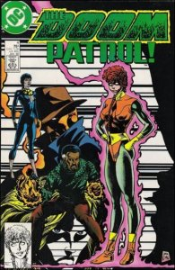 DC DOOM PATROL (1987 Series) #4 VF