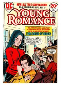 Young Romance #196 comic book 1973-DC Comics-I Was Raised By Wolves