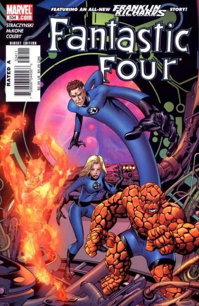 Fantastic Four (2003 series) #534, NM- (Stock photo)