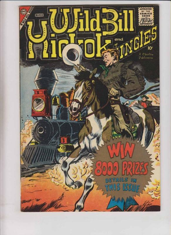Wild Bill Hickok and Jingles #71 FN march 1959 - silver age charlton western