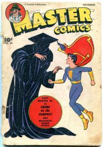 Master Comics #85 1947- Captain Marvel Jr- Bulletman Nyoka reading copy