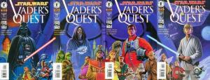 STAR WARS VADERS QUEST (1999 DH) 1-4  COMPLETE! COMICS BOOK