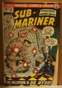 Sub-Mariner #61 (1973)