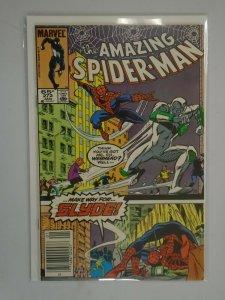 Amazing Spider-Man #272 Newsstand edition 6.0 FN (1986 1st Series)