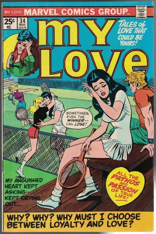 MY LOVE (1969-1976) 34 VG-F May 1975