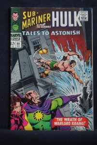 Tales to Astonish #86, Sub-Mariner/ Hulk 6.5, crm/ow pages