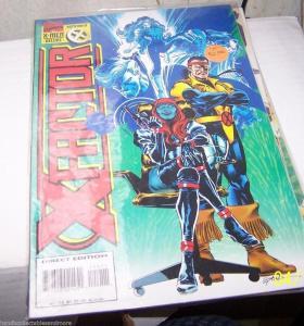 X FACTOR # 114 1995  MARVEL  X-MEN  HAVOC POLARIS   FORGE MYSTIQUE