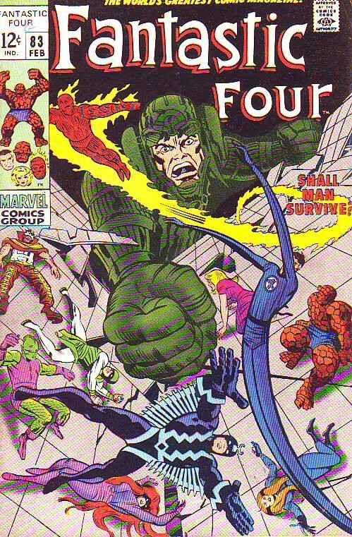 Fantastic Four #83 (Feb-69) FN/VF- Mid-High-Grade Fantastic Four, Mr. Fantast...