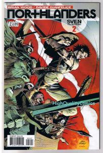 NORTHLANDERS #2, NM, Vikings, Vertigo, Brian Wood, 2008, Variant, more in store