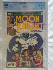 Moon Knight #1 - CBCS 9.4 - 1st Solo Title & Bushman