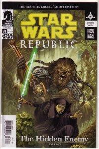 Star Wars: Republic (1998, Dark Horse) #81 FN (Hidden Enemy 1) Ostrander