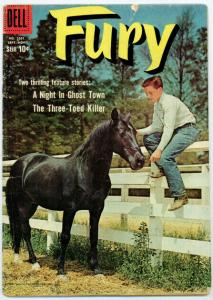 FURY (1957-1962 DELL) F.C.1031 FR-G PHOTOCOVER COMICS BOOK