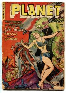 Planet #67 -1950-Fiction House GGA cover-Golden-Age-Comic book