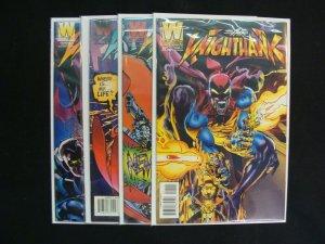 Neal Adam's Nighthawk #1-4 Complete Set Run Windjammer Comics