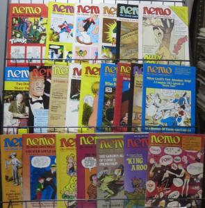 NEMO (Fantagraphics, 1983) #1-22 The Classic Comics Library! FANTASTIC reading