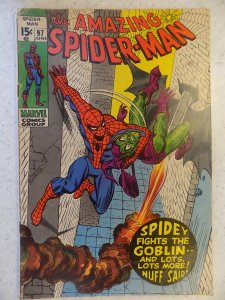 AMAZING SPIDER-MAN # 97 DRUG ISSUE GOBLIN