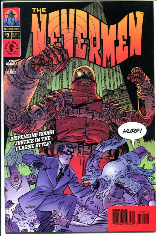 NEVERMEN #1 2 3 4, NM, Bizzare Heroes, Action Packed, Zany, 2000