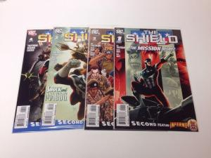The Shield 1 2 3 4 Lot Set 2009 DC VF/NM
