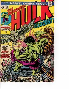 MARVEL The Incredible Hulk (1968 Series) #194 DEC 1975 VF-