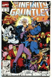 Infinity Gauntlet #6 Thanos- Warlock- Starlin comic book NM-