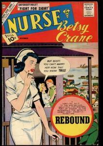 NURSE BETSY CRANE #14 1961-CHARLTON COMICS-SILVER AGE-FN